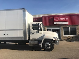 2019 HINO 338-271 with a 26 foot body