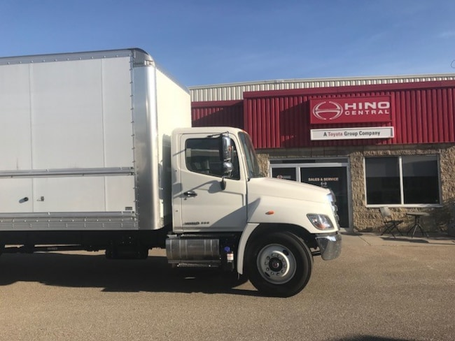 New 2019 HINO 338-271 with a 26 foot body For Sale at HINO Central