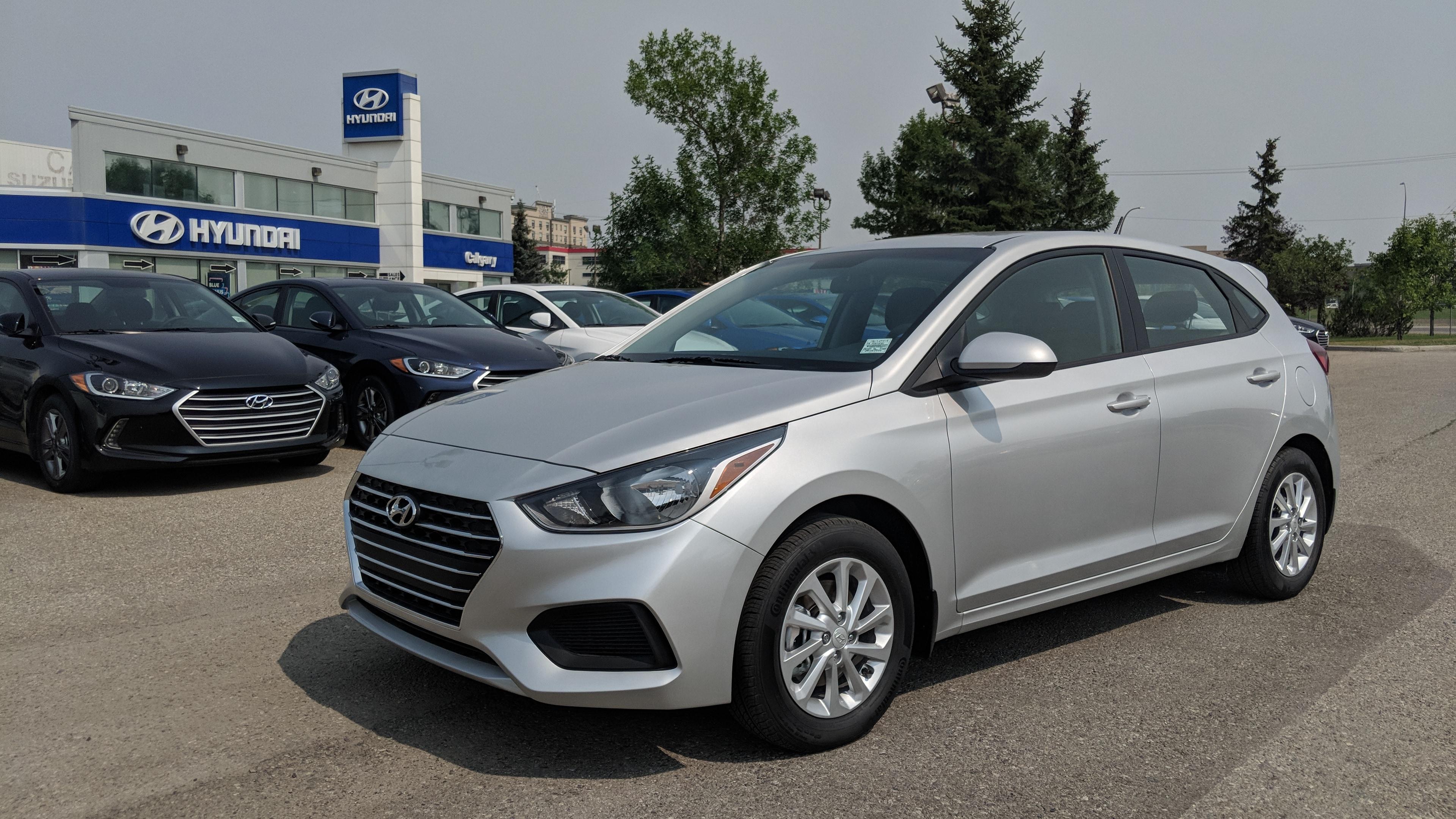 2018 Hyundai Accent GL Front Wheel Drive Hatchback