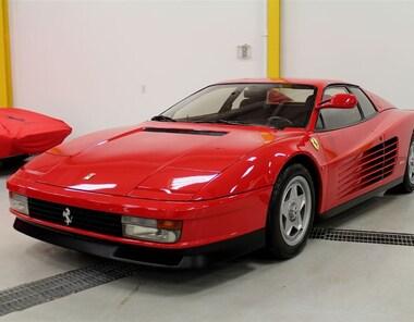 1986 Ferrari Testarossa Single Mirror Coupe