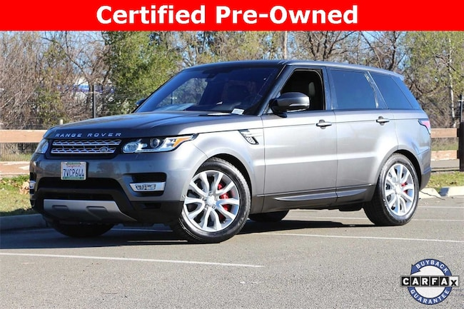 Certified Pre-Owned   2016 Land Rover Range Rover Sport 5.0L V8 Supercharged SUV for sale in Livermore, CA