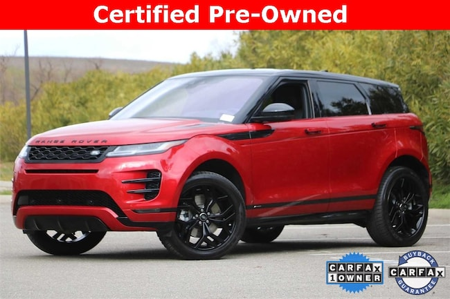 Certified Pre-Owned   2020 Land Rover Range Rover Evoque R-Dynamic S SUV for sale in Livermore, CA