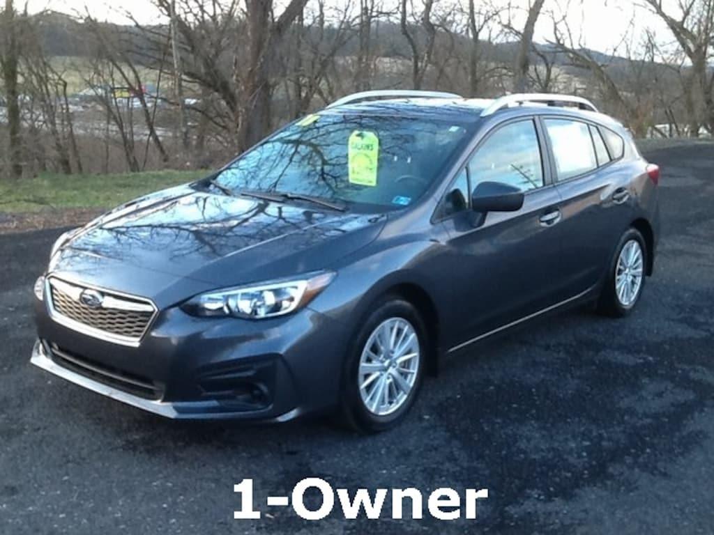 Subaru Impreza Hatchback For Sale >> Used 2018 Subaru Impreza 2 0i Premium For Sale In Burnham Pa Near Lewistown Mount Union Belleville Mifflin County Pa Vin 4s3gtab66j3713076