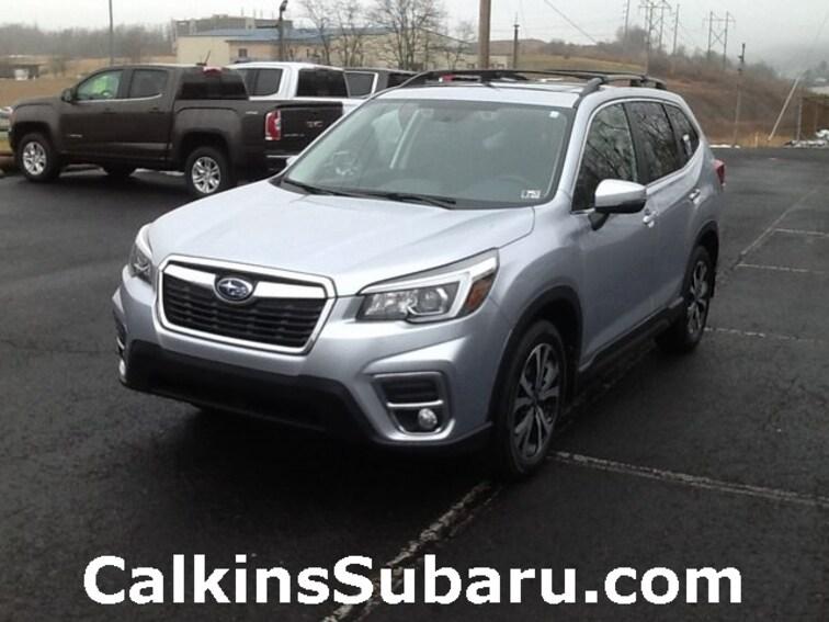 New 2019 Subaru Forester Limited SUV for sale in Burnham, PA