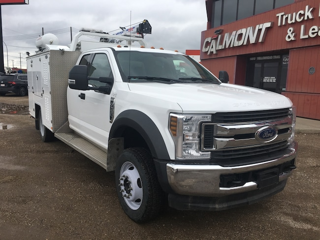 Used 2018 Ford F 550 For Sale At Calmont Group Vin