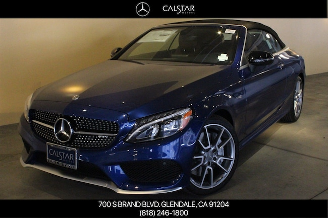 New 2018 Mercedes-Benz AMG C 43 4MATIC Convertible in Glendale, near Los Angeles