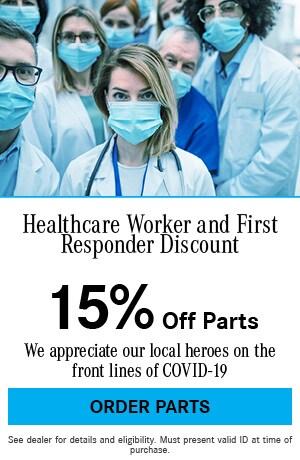 Healthcare Worker & First Responder Parts Discount