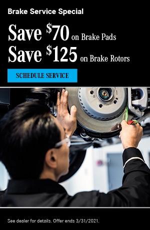Brake Service Special- March Special