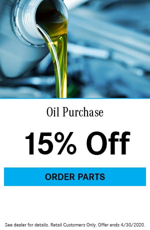 Oil Purchase Special