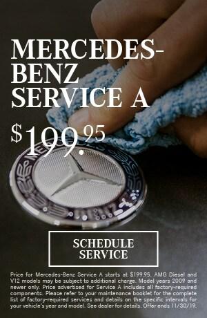 Mercedes-Benz Service A Special