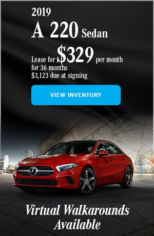 2019 Mercedes-Benz A 220 - April Offer