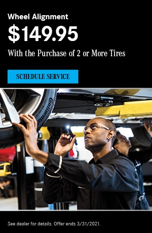 Wheel Alignment $149.95 - March Special