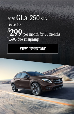 2020 GLA 250 - January Offer