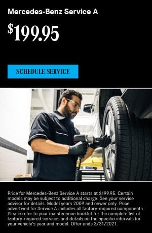 Mercedes-Benz Service A- March Special