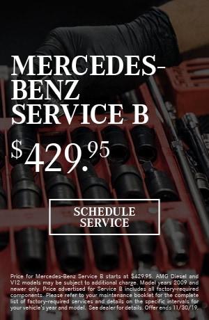 Mercedes-Benz Service B Special