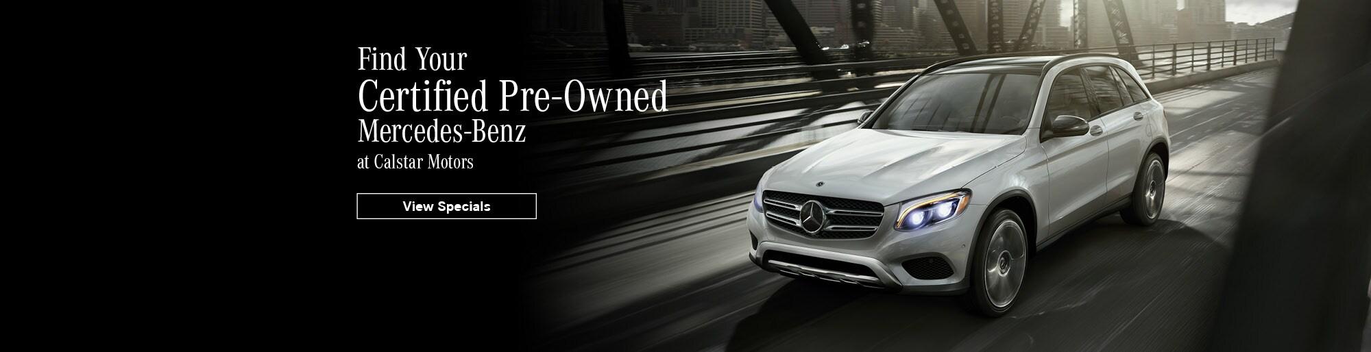 Calstar Motors | New and Used Mercedes-Benz Dealer in