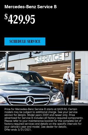 Mercedes-Benz Service B- March Special