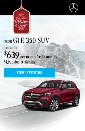 2020 GLE 350 - November Offer