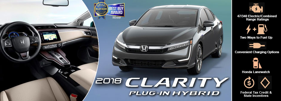 The New 2018 Honda Clarity Plug In Hybrid At Cambridge