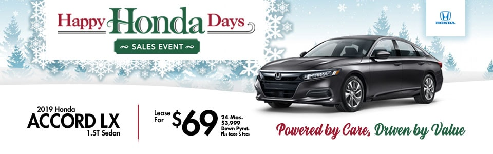 2018 Honda Accord Sport 1.5T Sedan Lease Special at Cambridge Honda