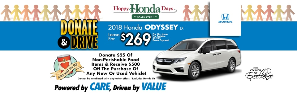 2018 Honda Odyssey LX Lease Special at Cambridge Honda