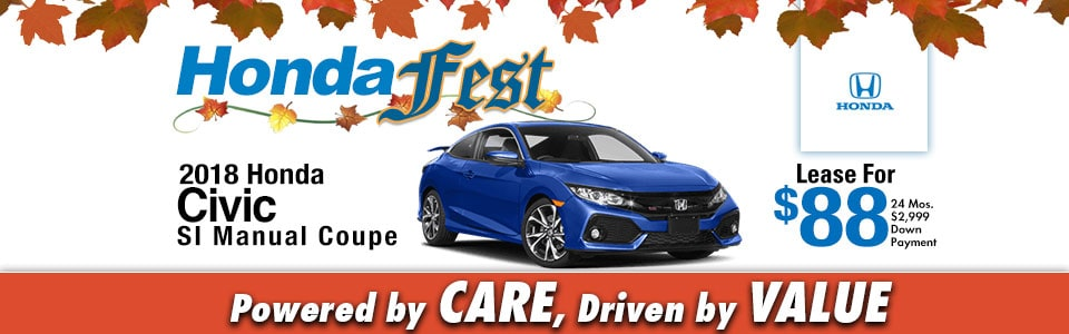 2018 Honda Civic SI Coupe Special at Cambridge Honda