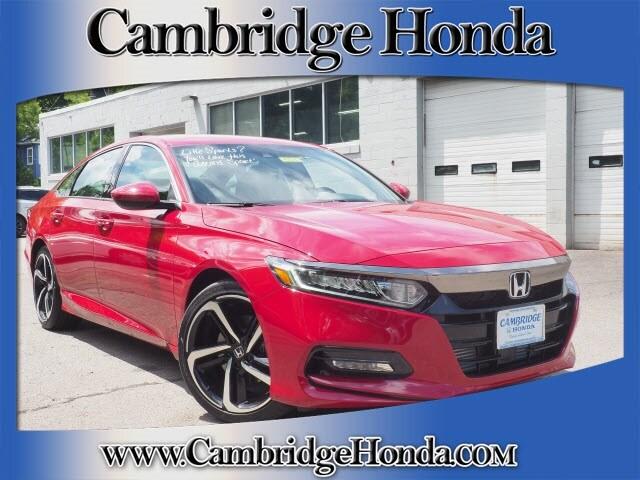 New 2019 Honda Accord Sport Sedan Cambridge, Massachusetts