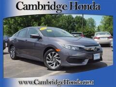 Used 2016 Honda Civic EX Sedan Cambridge, Massachusetts