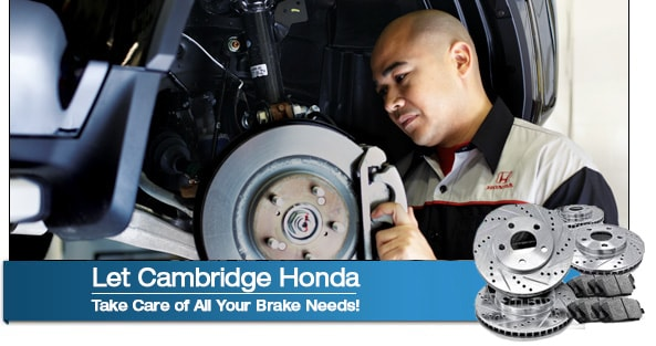 Cambridge Honda Brake Repairs Honda Dealer Near Boston Ma