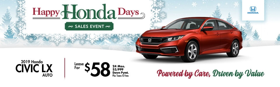 2019 Honda Civic Special at Cambridge Honda