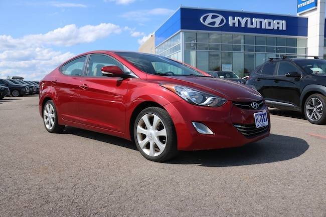 2011 Hyundai Elantra Limited Sedan