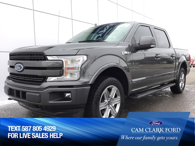 2018 Ford F-150 Lariat Sport 502A with Remote start & Moonroof Truck