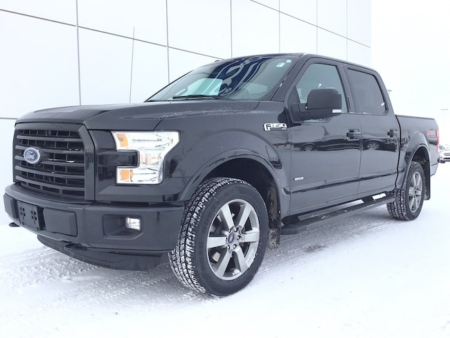 2015 Ford F-150 XLT Sport 302A 3.5L with FX4 & Max Tow Package Truck