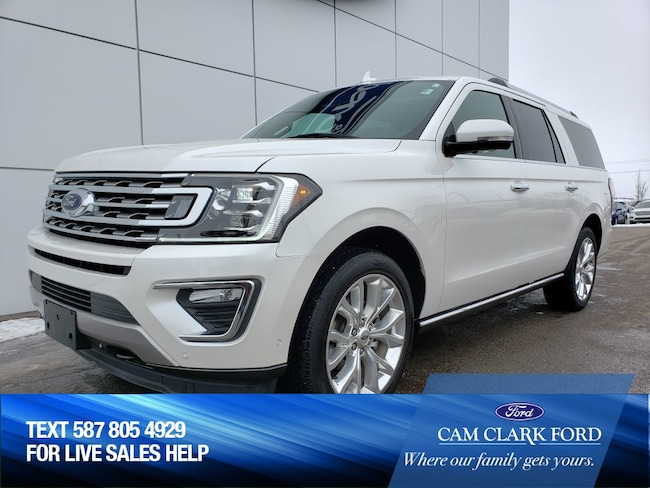 2018 Ford Expedition Max Limited 302A 3.5L 4WD - CERTIFIED PRE-OWNED UNIT SUV