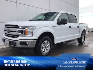 2018 Ford F-150 Supercrew XLT 301A 2.7L With Touchscreen