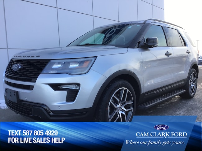 2018 Ford Explorer SPORT 400A 3.5L AWD with Remote Start SUV