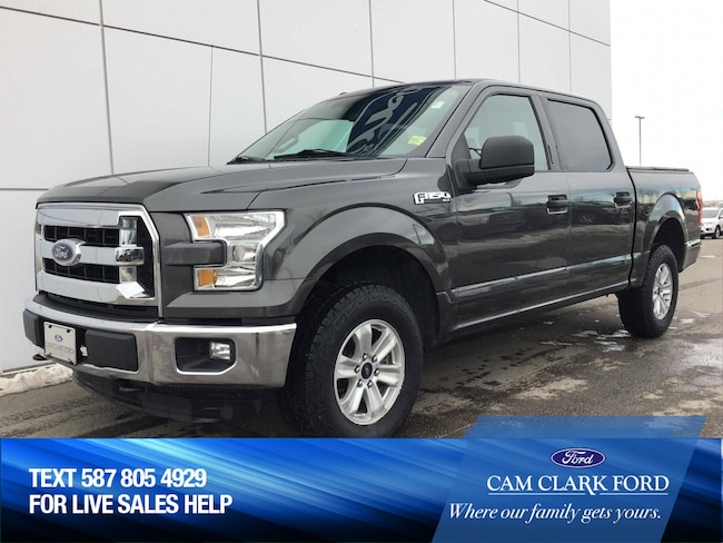 2016 Ford F-150 XLT 300A 3.5L V6 with Tonneau Cover Truck