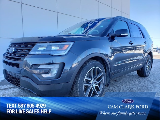 2017 Ford Explorer Sport 400A 3.5L AWD with Remote Start & Moonroof SUV