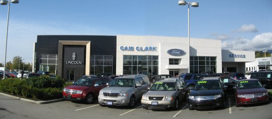 about cam clark ford lincoln dealership new used ford lincoln car dealer in north. Black Bedroom Furniture Sets. Home Design Ideas