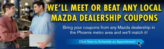 Mazda Service Auto Repair Phoenix Dealer Near