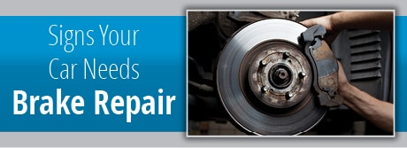 Signs That Your Car Needs Brake Repair