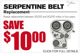 Serpentine Belt at Camelback VW | Phoenix VW Dealer