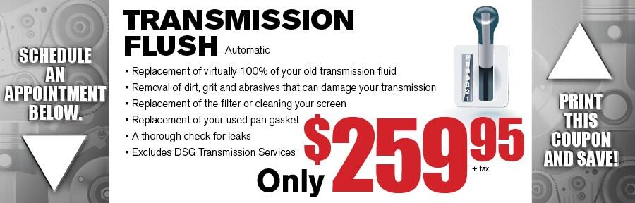 Transmission Flush Camelback Subaru Service Coupon