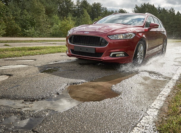 Ford Pits Cars Against Potholes With New Test Track