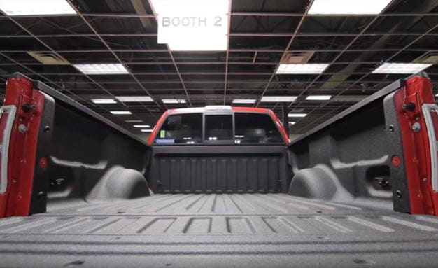 Ford Spray-In Bed Liners