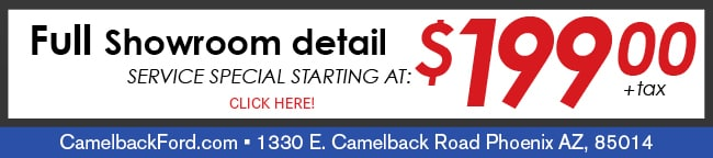 Full Showroom Detail Coupon, Phoenix