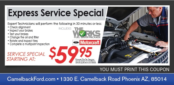 Camelback Ford New Ford Dealership In Phoenix Az 85014