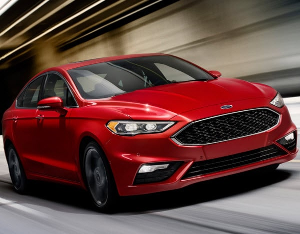 2017 Fusion Receives A Top Safety Pick Award Camelback Ford