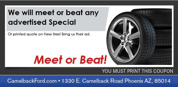 Tires Service Coupon, Phoenix Automotive Service Special