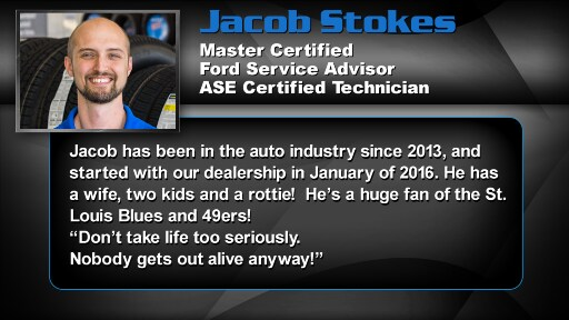 Jacob Stokes - Service Advisor